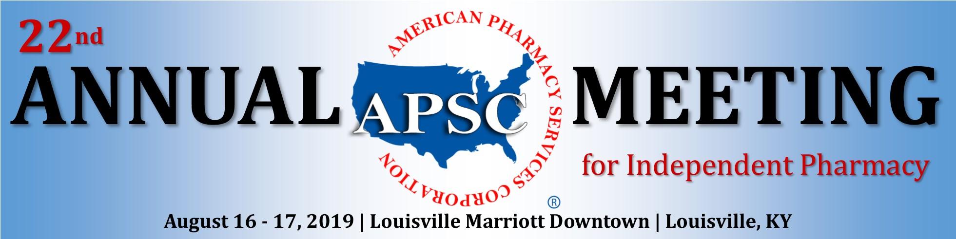 APSC Meeting 2019